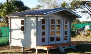 YZY kithomes display cabin in Coffs Harbour