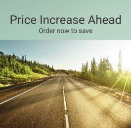 Price increase ahead