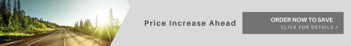 Price increase ahead banner home