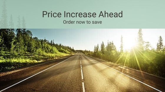 Price increase ahead banner news