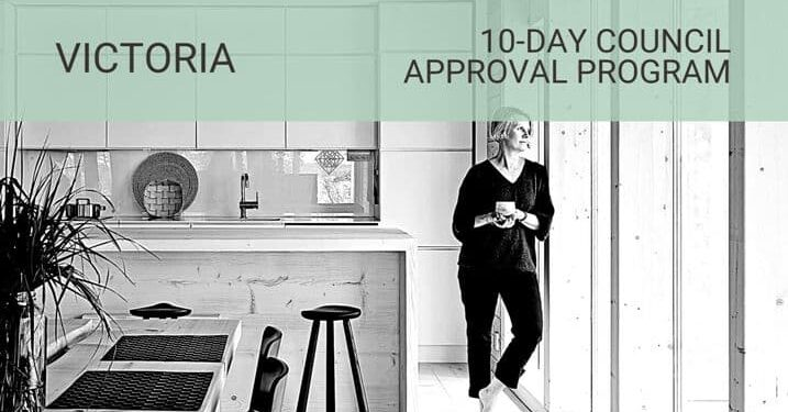 10 day Council Approval Program VIC