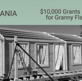 $10,000 Grants Granny Flats Tasmania