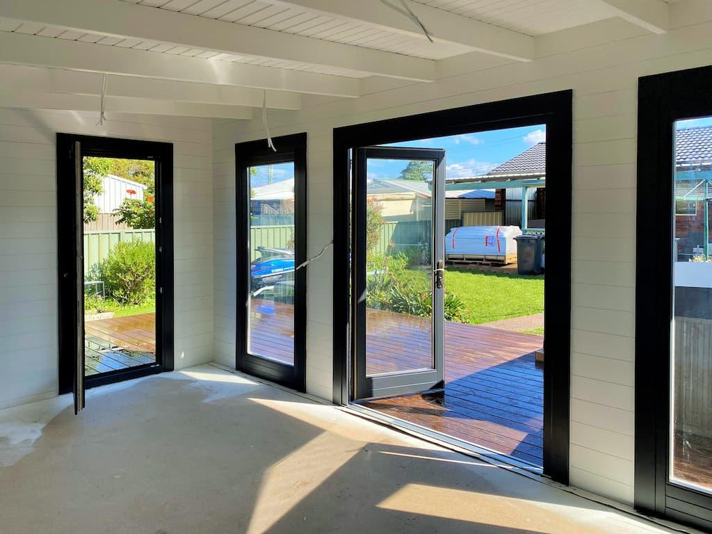 Inside Skyros 19 backyard spa retreat