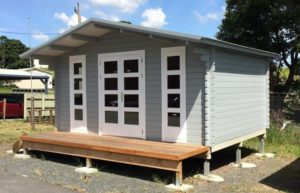 Backyard cabin Corsica, Sarwood Timbers
