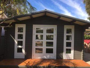 Backyard cabin Corsica, Central Coast