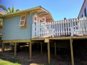Backyard cabin Crete, Port Macquarie