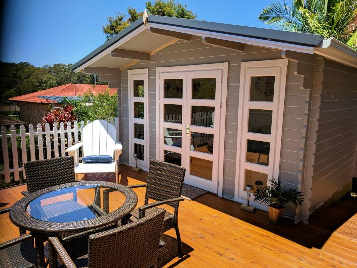 Backyard cabin Crete, Port Macquarie