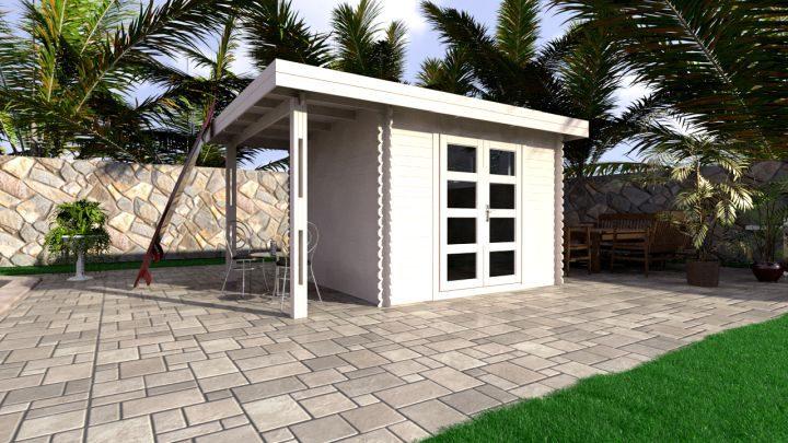 Backyard cabin Majorca 9m²
