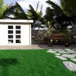 Backyard cabin Majorca 9m²