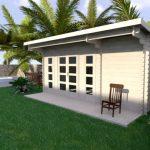 Backyard cabin Sicilia 20m²