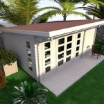 Backyard cabin Sicilia 20m²