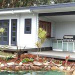 Backyard cabin Sicilia, pool house