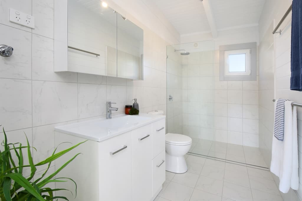 Bathroom of investment property Ibiza