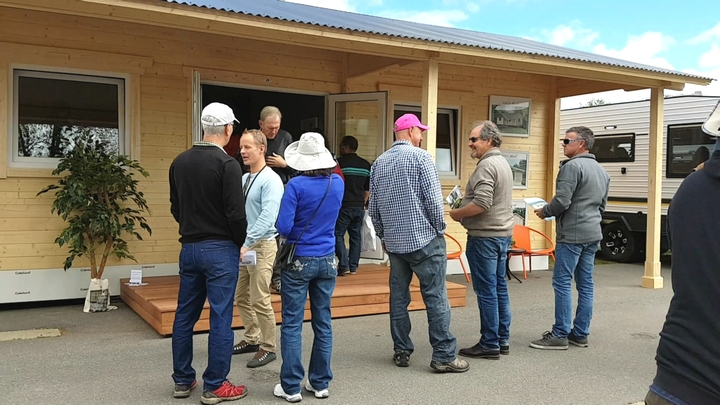 Builders consultations granny flats opening display village canberra
