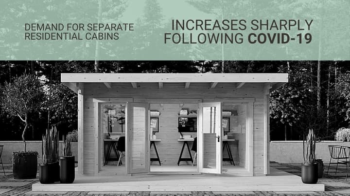 Demand for Separate Residential Cabins Increases Sharply Following COVID-19