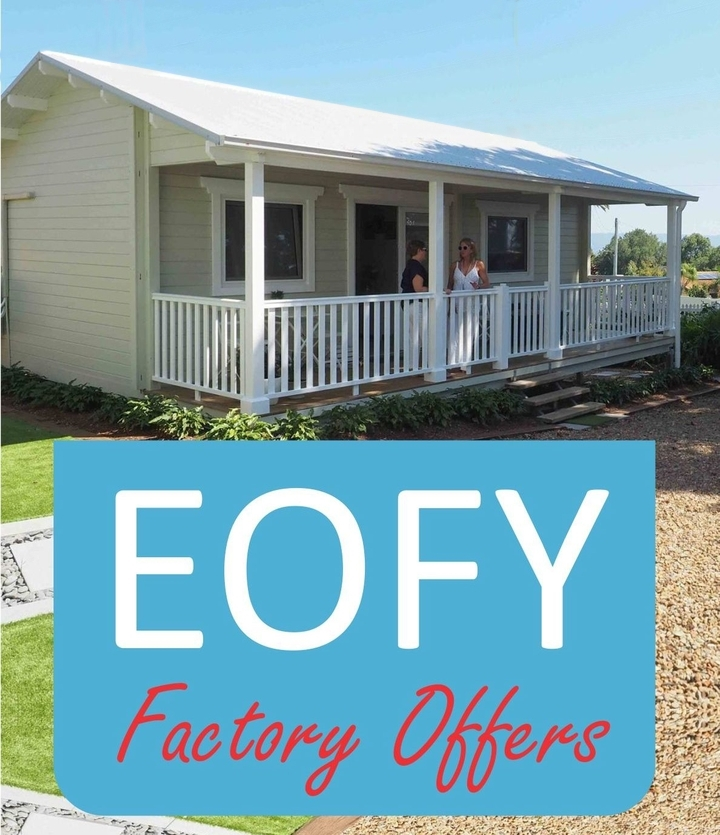 EOFY backyard cabins Sale June 2017