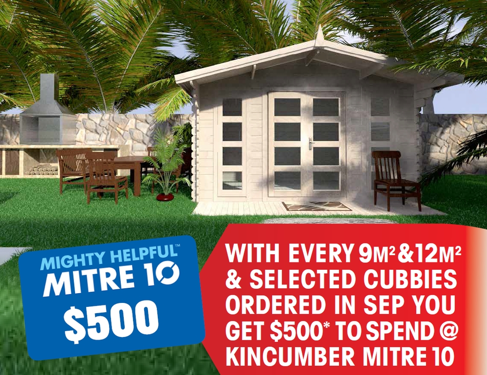 Fathers Day Offer Backyard Cabins 1017