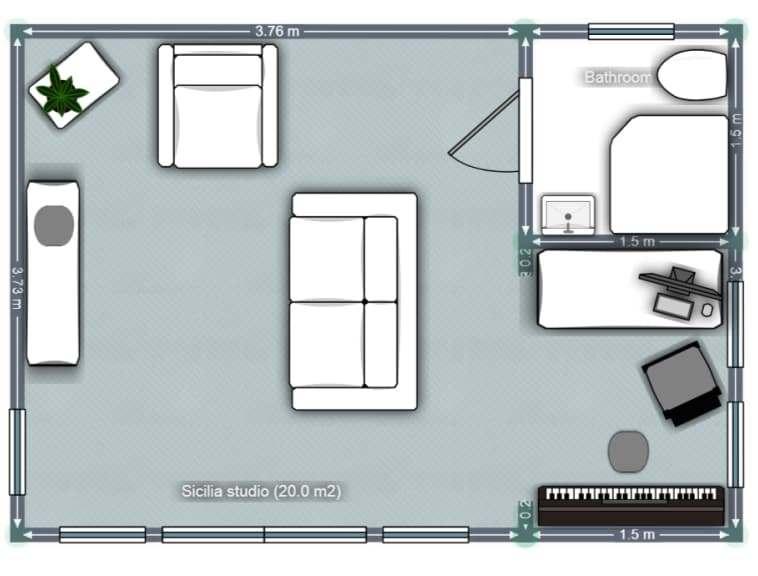 Sicilia Floor plan
