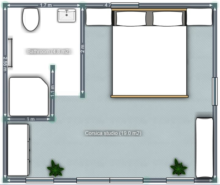 Floor plan bedroom addition Coolum Beach