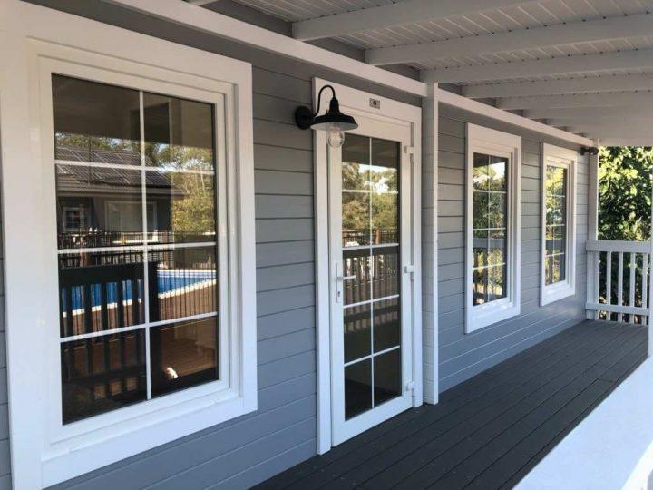 Front verandah Rhodes Sydney