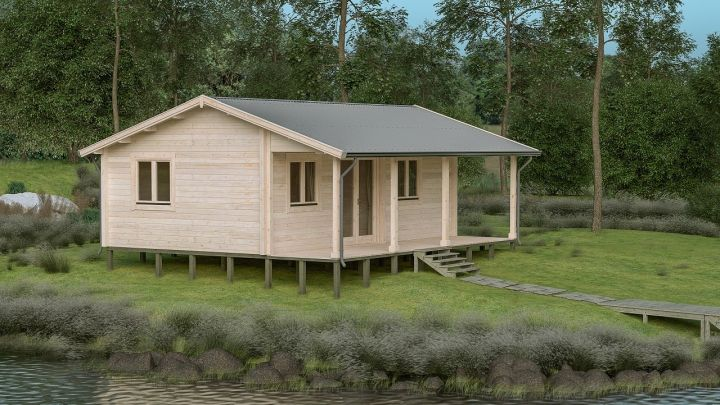 Cyprus 40m yzy kit homes for Backyard cabins granny flats