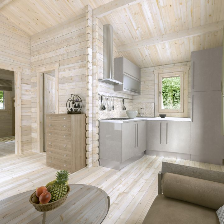 Diy Kitchen Cabinets Brisbane: Granny Flat Greenland 57 M²