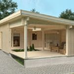 Granny flat Madeira 43m² front/side view