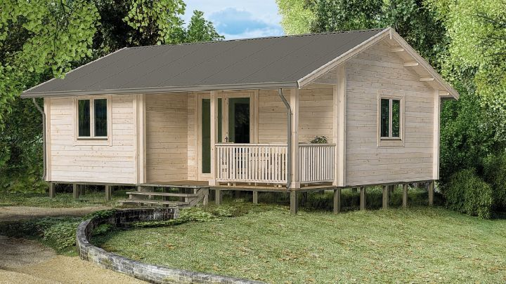Scandinavian backyard cabins and granny flats yzy kit homes for Granny cabins