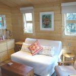 Inside sewing room