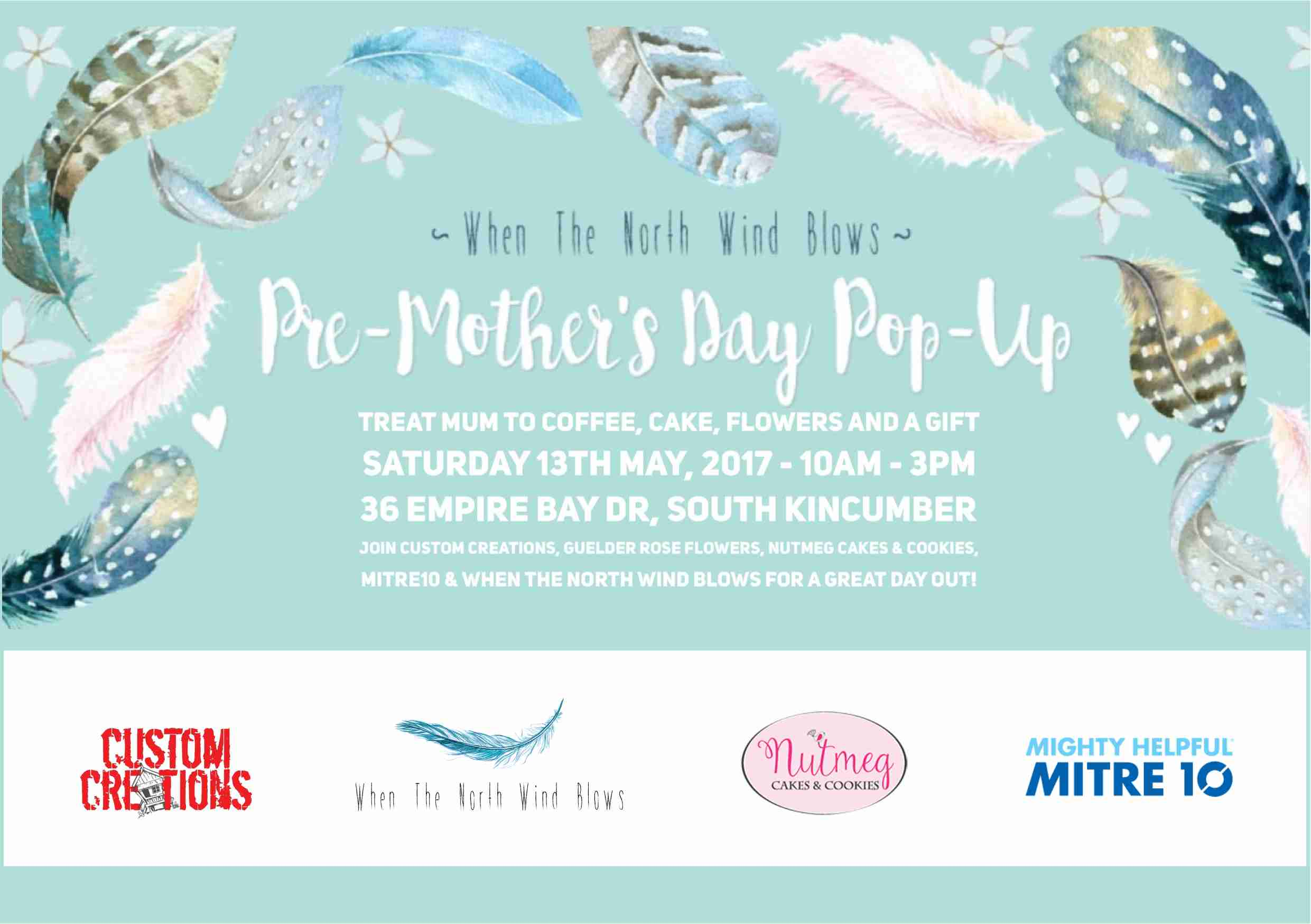 Pre-Mother's Day Pop-up Event