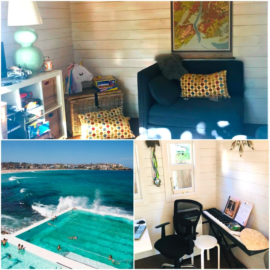 Piano and lounge Teenage area Retreat Bondi Beach