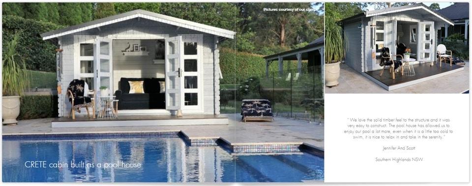 Pool House Crete 2019