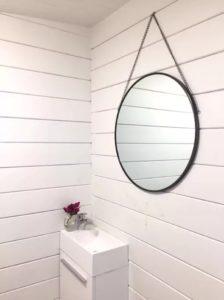 Vanity inside Corsica cabin