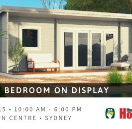 Sicilia 30 at HIA Home Show in Sydney, 13-15 March 20