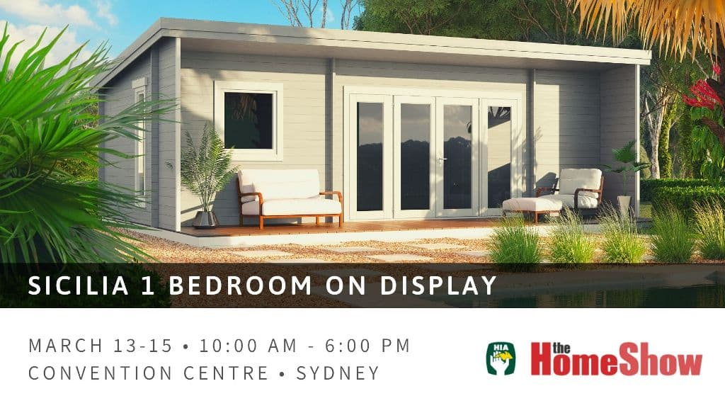 Sicilia 1 bedroom on display at HIA Home Show, 2020