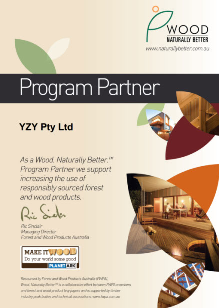 YZY Backyard cabins - Wood Naturally Better
