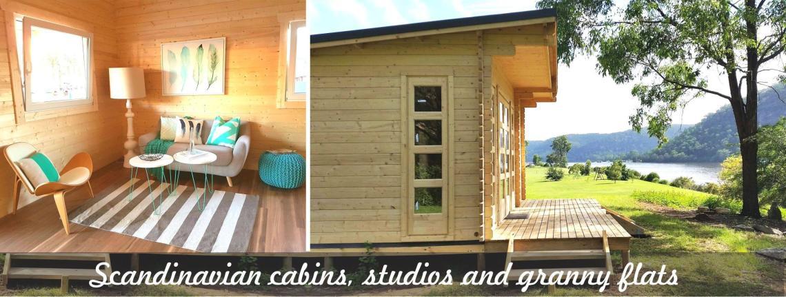 Backyard Cabins Victoria scandinavian backyard cabins and granny flats - yzy kit homes