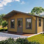 Backyard cabin Corsica 30 | Brown
