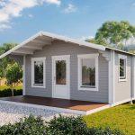Backyard cabin Corsica 30 | Grey White