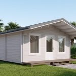 Backyard cabin Corsica 30 m2