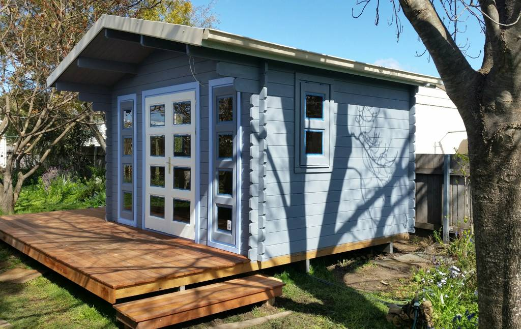 Backyard cabins and granny flats gallery yzy kit homes for Granny cabins