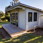 Backyard Cabin Rural Retreat Airbnb Port Macquarie right