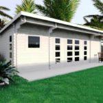Backyard cabin Sicilia 30m² 1 bedroom