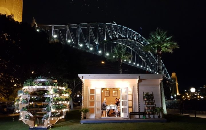 Backyard Cabin Sicilia and IKEA growroom by Harbour Bridge