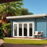 Backyard cabin Sicilia Panorama 20   Blue