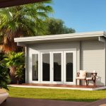 Backyard cabin Sicilia Panorama 20 | Grey White