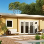 Backyard Cabin Sicilia Panorama 30 | Cream without sidewalls