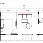 Backyard Cabin Sicilia Panorama 30 floor plan