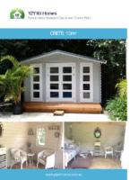 Backyard cabin Crete 12m²
