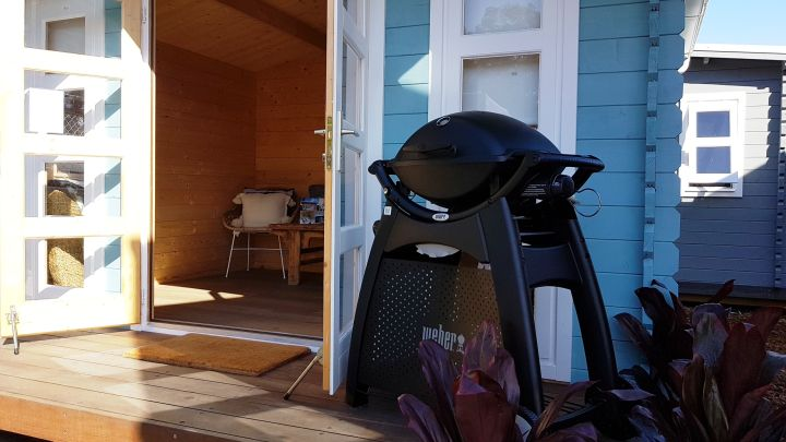 Backyard Cabin Crete Mothers Day Special free BBQ